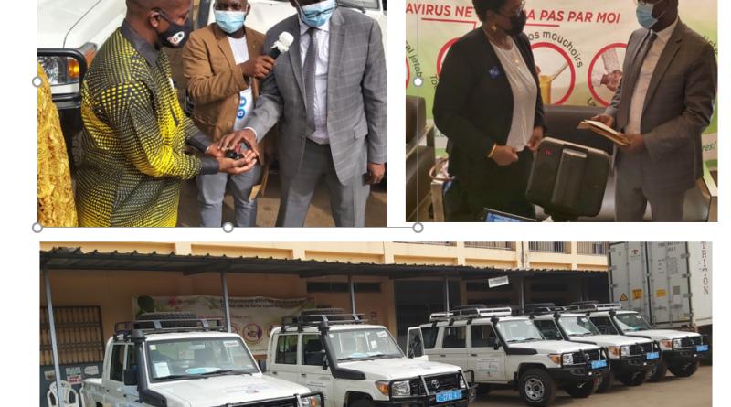Remise de véhicules au Ministère de la santé